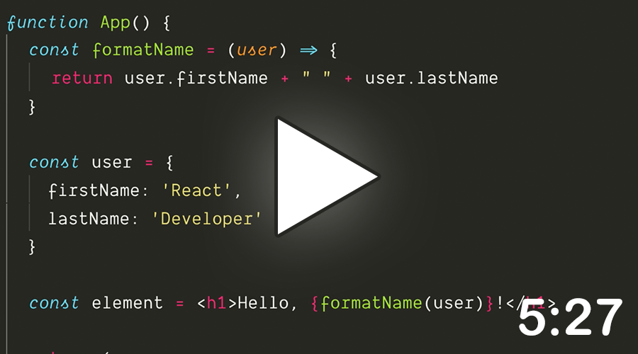 2. Introducing JSX