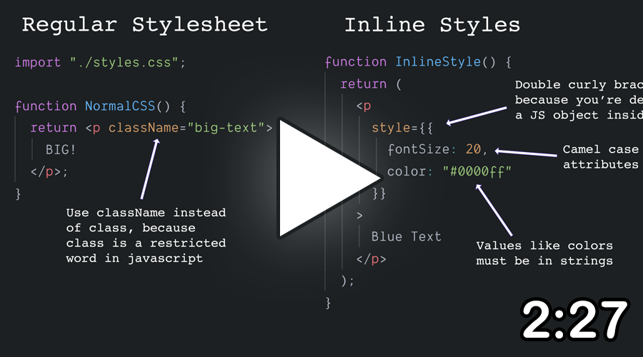 Styling Components